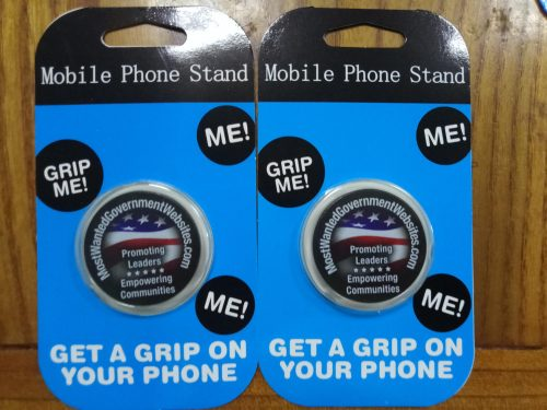 Custom Poposkets Logo Pop Up Phone Grip photo review