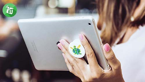 customer ipad popsockets